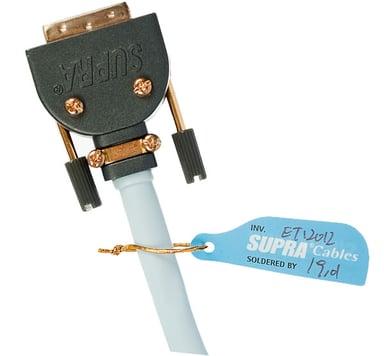Jenving Supra DVI-Kabel 12m DVI-D Dual Link Hane DVI-D Dual Link Hane