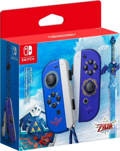 Nintendo Switch Joy-con Pair Zelda Skyward Sword Edition