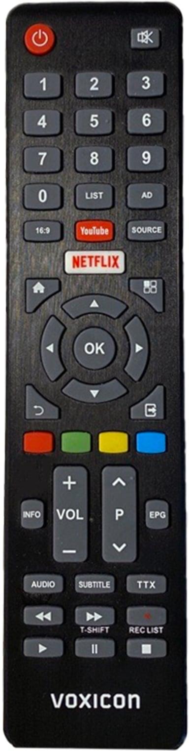 Voxicon Sparepart Voxicon Netflix Remote Control