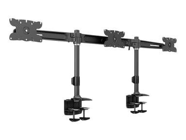 "Multibrackets M VESA Skjermstativ Triple Desk Clamp 24""–32"""