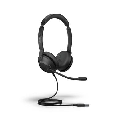 Jabra Evolve2 30 USB-A MS Stereo Headset Musta