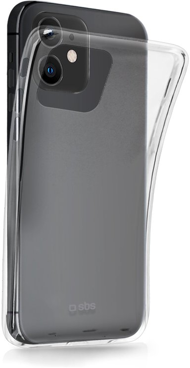 sbs Skinny Cover iPhone 12 iPhone 12 Pro Transparent