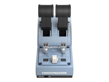 Thrustmaster ThrustMaster TCA Quadrant Airbus edition Musta Sininen