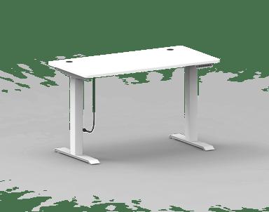 Nordic Office FlexiDesk Home korkeussäädettävä pöytä 120 x 60 cm, valkoinen
