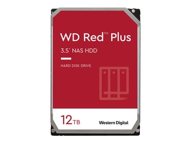 WD Red Plus NAS Hard Drive WD120EFBX