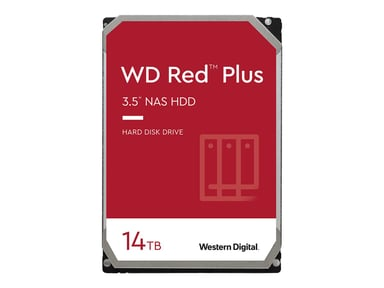 WD Red Plus NAS Hard Drive WD140EFGX