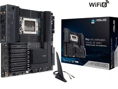 ASUS Prime TRX40-Pro Utökad ATX Moderkort