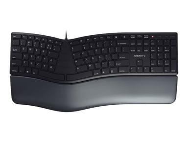 Cherry ergonomisch keyboard/muis bundel (rechtshandig)