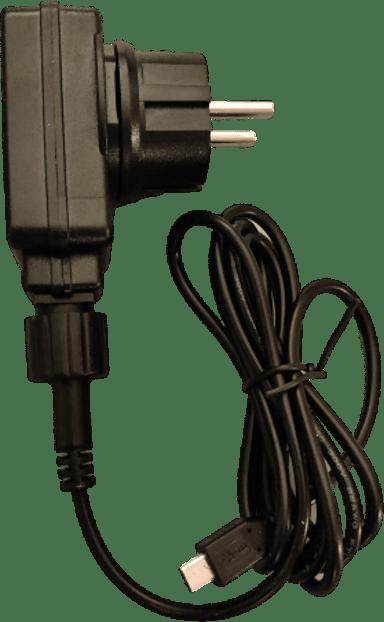 Enjoy Outdoor Power Adapter Micro-usb Ip44 1.5M Black