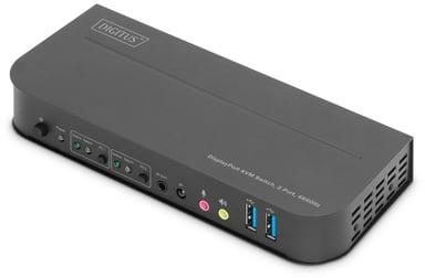 Digitus Industriel 4K KVM switch med 2 porte