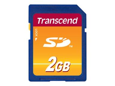 Transcend Flash-Minneskort 2GB SD-minneskort