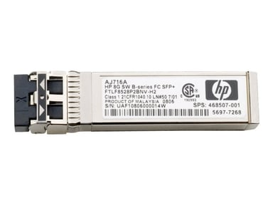 HPE SFP+ sändar/mottagarmodul 16 Gb fiberkanal (kortvåg)