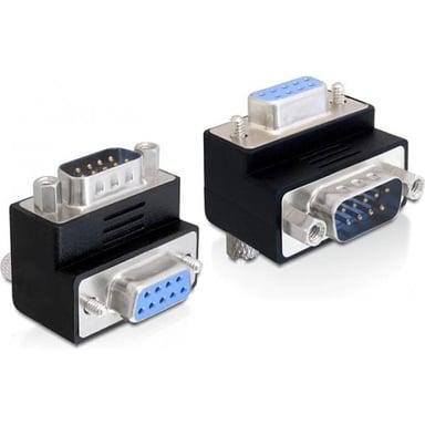 Delock Adapter 9-pin D-Sub (DB-9) Hunn 9-pin D-Sub (DB-9) Hann