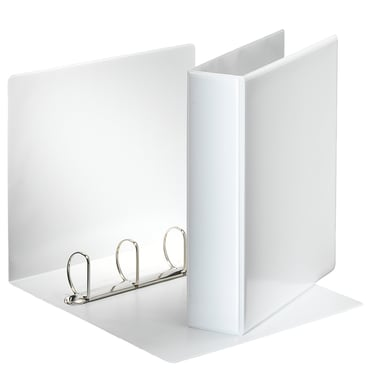 Esselte Panorama Binder A4 4-D Ring 2 Fickor White 10-Pack