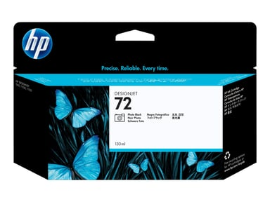 HP Blekk Foto Svart No.72 - T1100 130ml