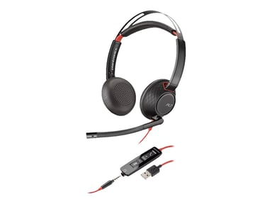 Poly 5220 Blackwire USB Stereo Musta