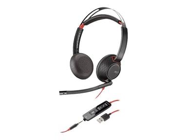 Poly 5220 Blackwire USB Stereo Svart
