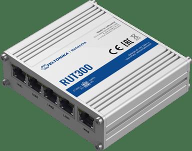 Teltonika RUT300 Industrial Ethernet Router