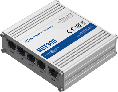 Teltonika RUT300 Industriell Ethernetrouter