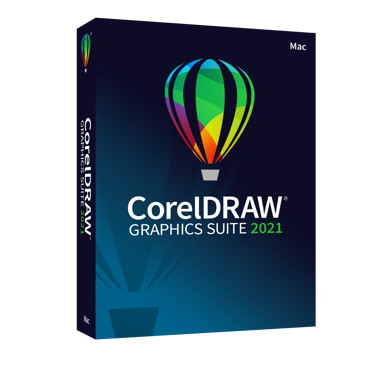 Corel CorelDraw Graphics Suite 2021 Eng/Sve Mac Box