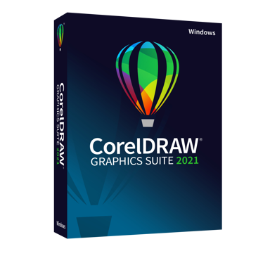Corel CorelDraw Graphics Suite 2021 Eng/Sve Windows Box