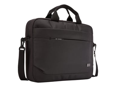 "Case Logic Advantage Laptop Attaché 14"" Black 14"" Polyester"