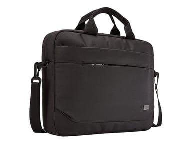 "Case Logic Advantage Laptop Attaché 14"" Black 14"" Polyesteri"