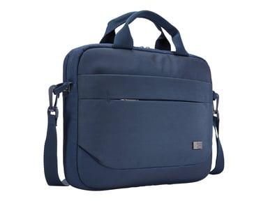 "Case Logic Advantage Laptop Attaché 11.6"" Dark Blue 10.1"" - 12"""" 12"" Polyester"