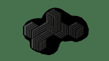 Elgato Wave Panels -aloituspakkaus, musta