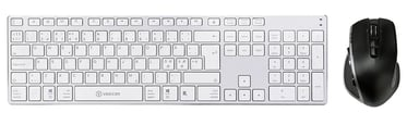 Voxicon BT keyboard 290WH +wireless Pro mouse DM-P30WL Pohjoismaat
