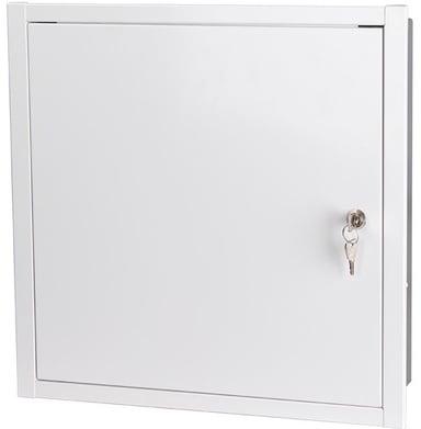 Direktronik Upotettu tekniikkakaappi 40x40 cm, valkoinen