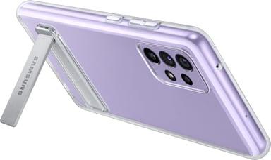 Samsung Clear Standing Cover Samsung Galaxy A72 Läpinäkyvä