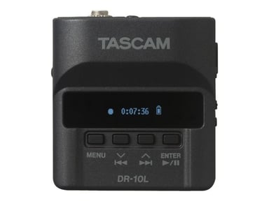 Tascam Digital Audio Recorder With Lavalier Microphone
