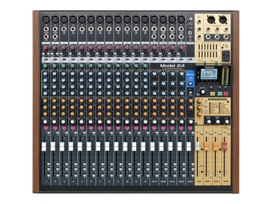 Tascam 22-Ch Analogue Mixer With 24-Track Digital Recorder