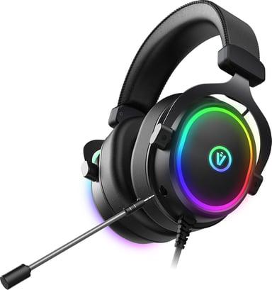 Voxicon GR8-G24 RGB Gaming Headset Surround