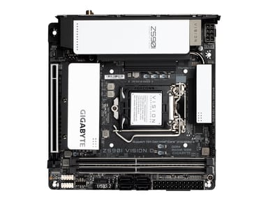 Gigabyte Z590I VISION D Mini ITX Moderkort
