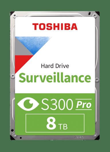"Toshiba S300 Pro Surveillance 8TB 3.5"" Serial ATA-600"
