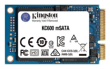 Kingston KC600 512GB mSATA Serial ATA-600