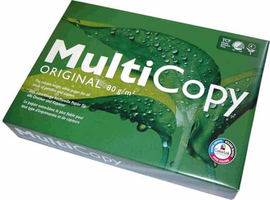 Multicopy A4/80g/2500 ark kopipapir uden hul
