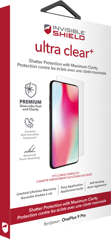 Zagg InvisibleShield Ultra Clear+ OnePlus 9 Pro