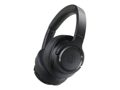 Audio-Technica AUDIO-TECHNICA WIRELESS HEADPHONES - BLACK #NL #DEMO Zwart