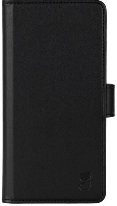 Gear Wallet Case Motorola G100 Svart