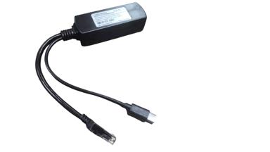 Direktronik PoE-splitter USB-C 5V/2.4A
