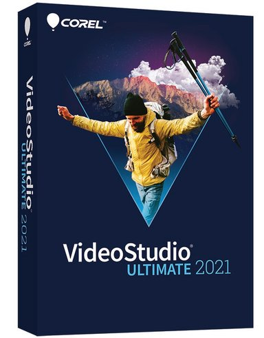 Corel Videostudio 2021 Ultimate Win Eng Mini Box