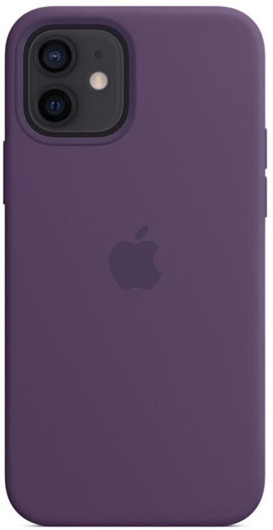 Apple Silicon Case with MagSafe iPhone 12 iPhone 12 Pro Ametyst
