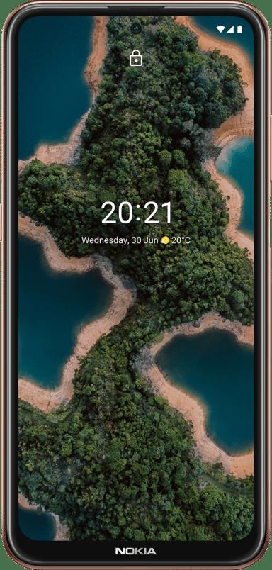 Nokia X20 128GB Kaksois-SIM Midnight sun