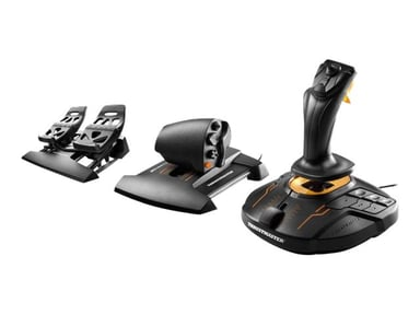 Thrustmaster T.16000M FCS FLIGHT PACK #demo