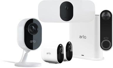 Arlo Arlo Pro 3 & 2 Cameras + Video doorbell + Indoor Camera + Floodlight