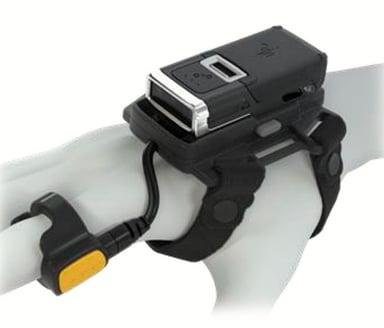 Zebra RS5100 Single Finger Ring Scanner SE4710 BT Standard Batteri Back Of Hand
