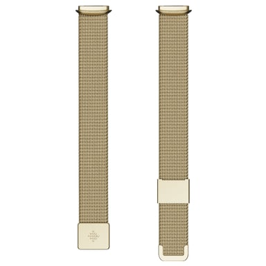 Fitbit Armband Metal Mesh Soft Gold (One size) - Luxe